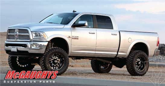 Mcgaughy S Front Leveling Kit For 2014 18 Dodge Ram 2500