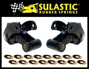 SULASTIC Shackles Dodge Ram 2500/3500 1981-2019