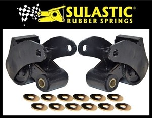 SULASTIC SHACKLES 2001-2010 Chevy/GMC 2500/3500