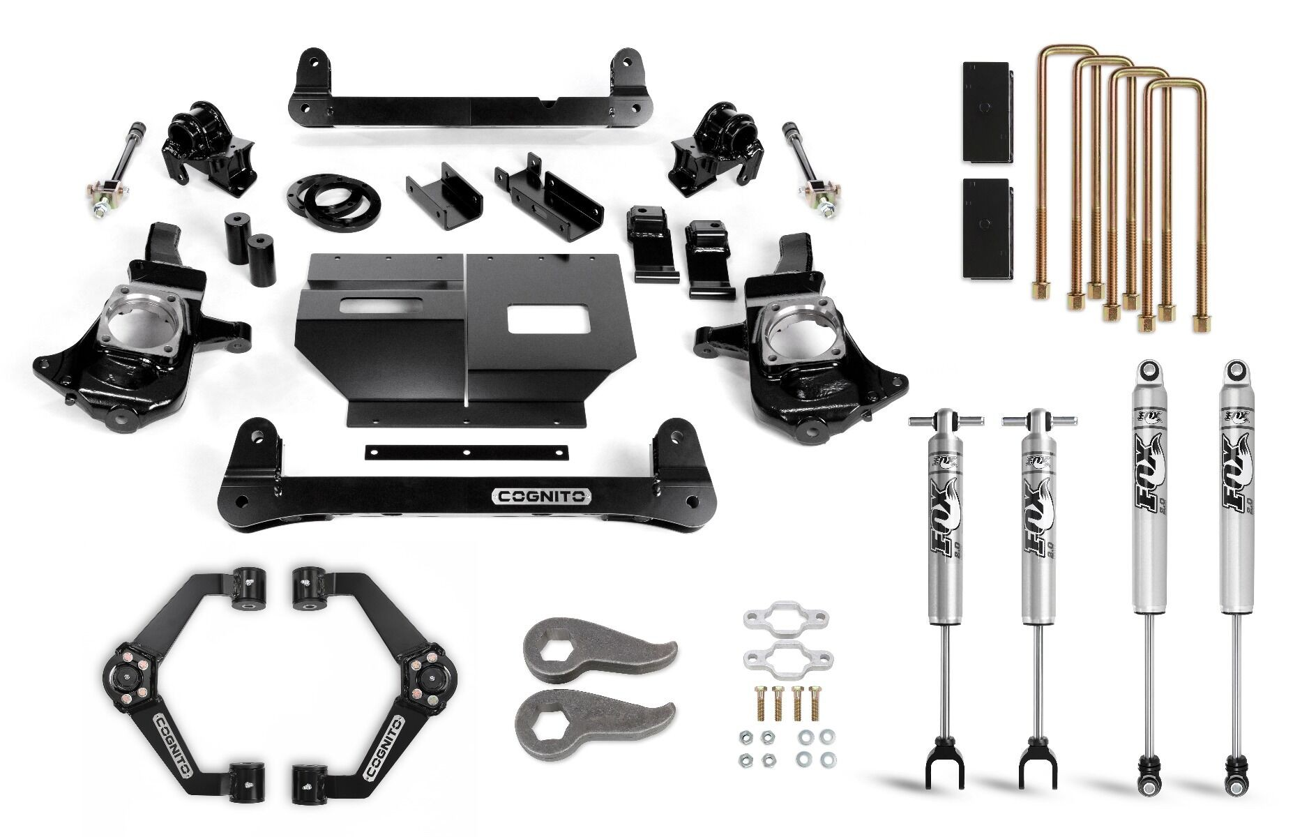 "Cognito 6"" Standard Lift Kit with Fox PS 2.0 IFP"