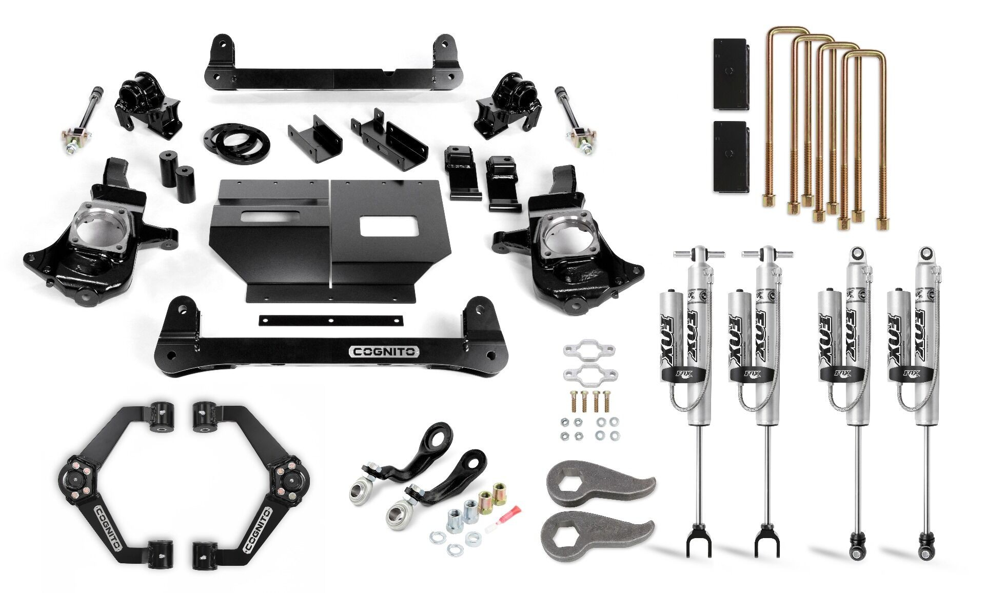 """Cognito 6"""" Performance Lift Kit with Fox PSRR 2.0"""
