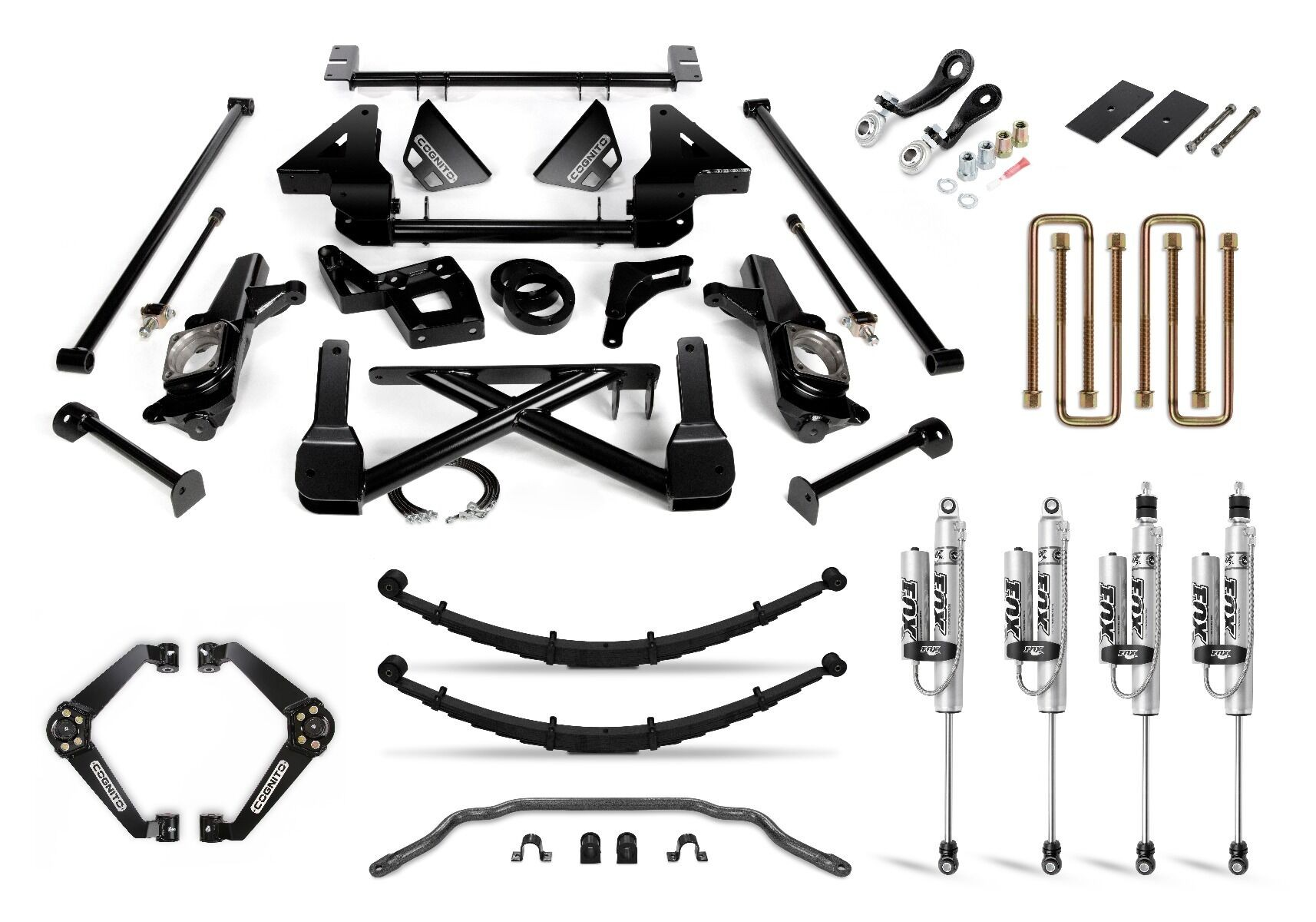 "Cognito 10"" Performance Lift Kit"