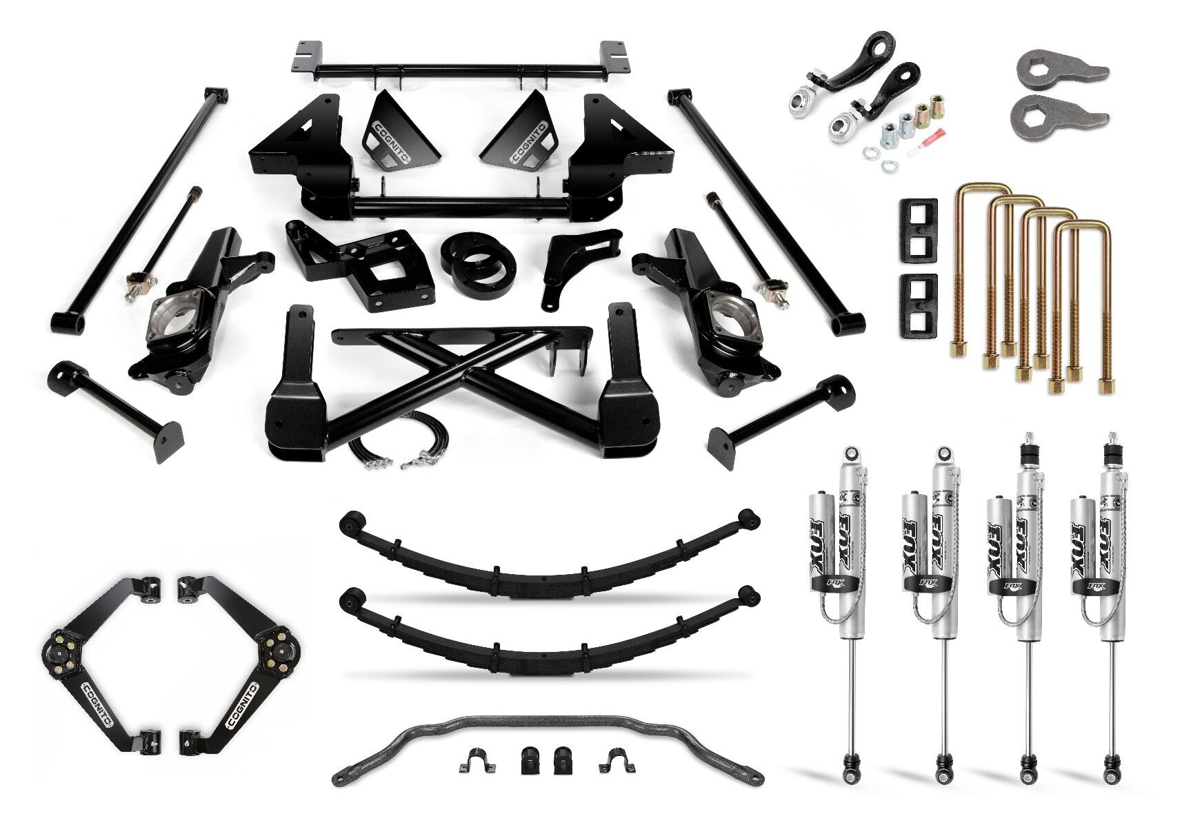 "Cognito 12"" Performance Lift Kit with Fox PSRR 2.0"