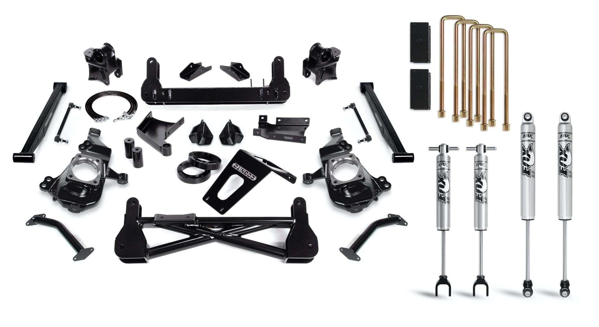 """Cognito 7"""" Standard Lift Kit with Fox PSMT 2.0 Shocks"""