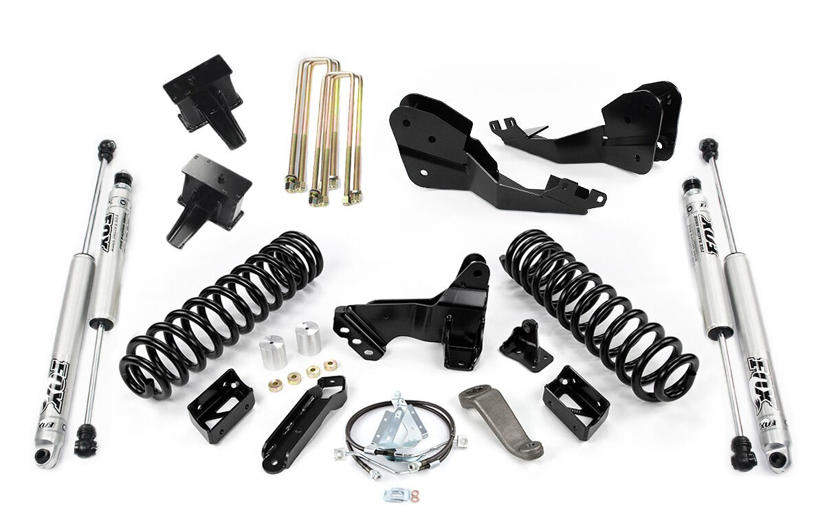 """Cognito 5"""" Standard Lift Kit With Fox PS 2.0 IFP Shocks"""