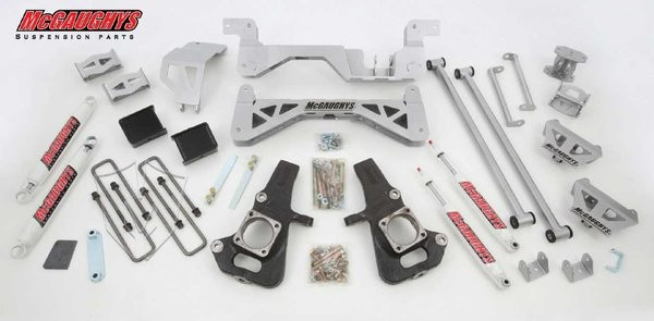 "McGAUGHYS 2002-10 GM 2500/3500 (2WD, Diesel)- 7"" Premium Lift Kit"