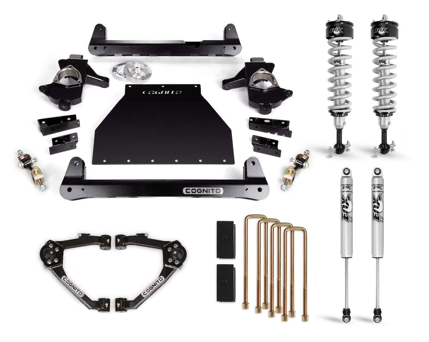 "Cognito 4"" Performance Lift Kit With Fox PS IFP 2.0 Shocks"
