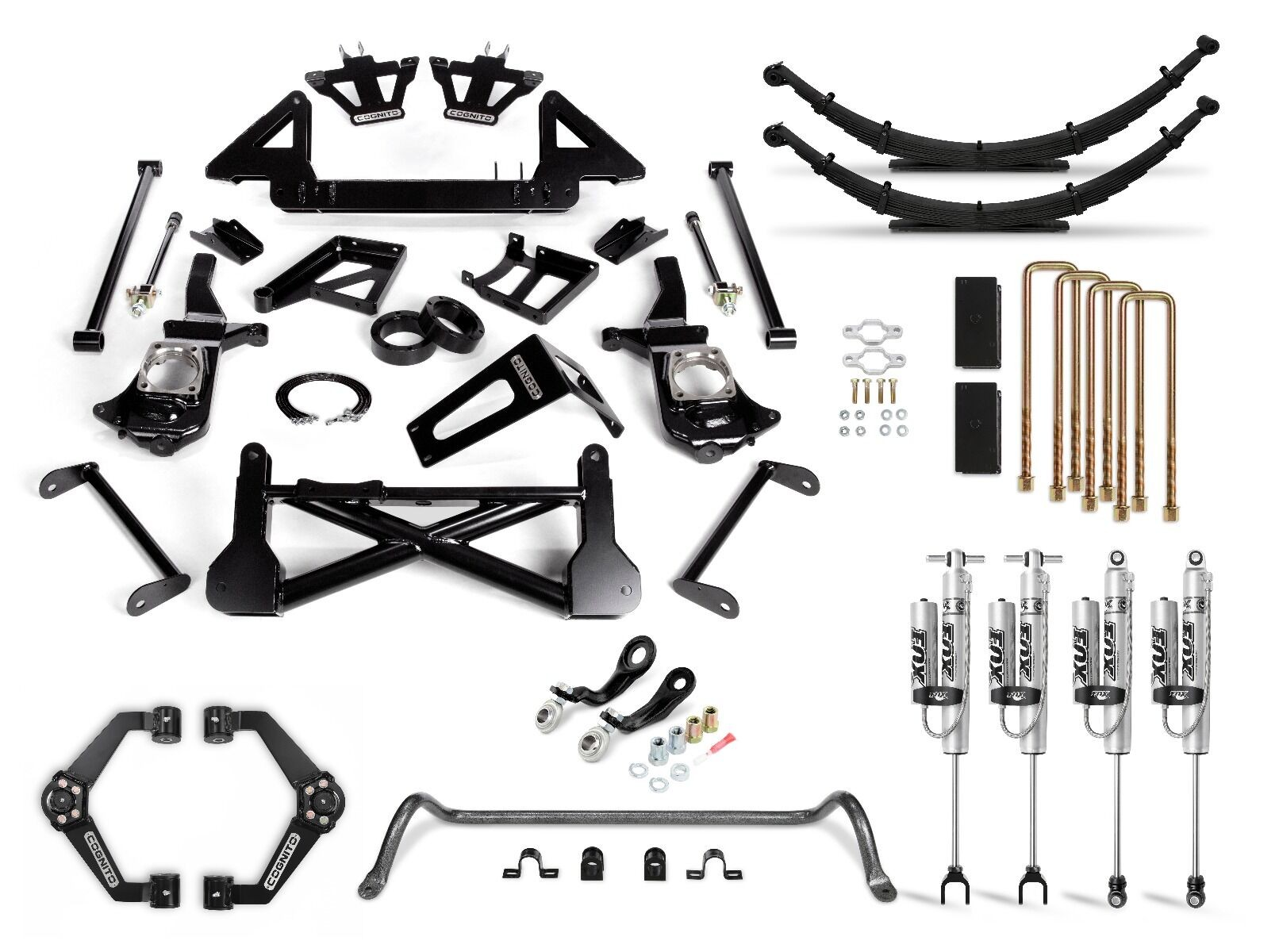 "Cognito 10"" Performance Lift Kit with Fox PSRR 2.0"