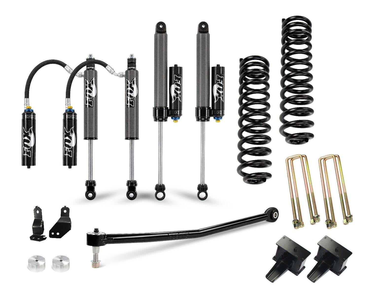 "Cognito 3"" Elite Lift Kit With Fox FSRR 2.5 Shocks"