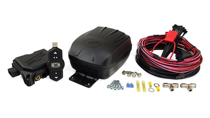 AIR LIFT WIRELESS SINGLE PATH ON-BOARD AIR COMPRESSOR SYSTEM (2nd Gen)