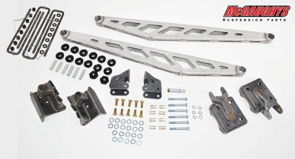 McGAUGHYS 1999-2016 GM Truck 1500 (2WD/4WD) - Traction Bar Kit