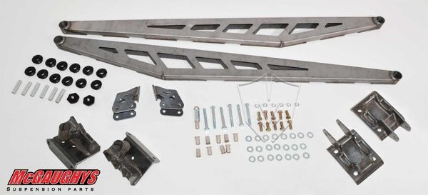 McGAUGHYS 2002-2010 GM Truck 2500/3500 (2WD/4WD)- Traction Bar Kit