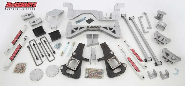 "McGAUGHYS 2002-2010 GM 3500 (4WD, Gas Motor) - 7"" Premium Lift Kit"