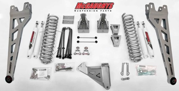 "McGAUGHYS 2008-2010 Ford F-250 (4WD)- 8"" Lift Kit Phase 2"