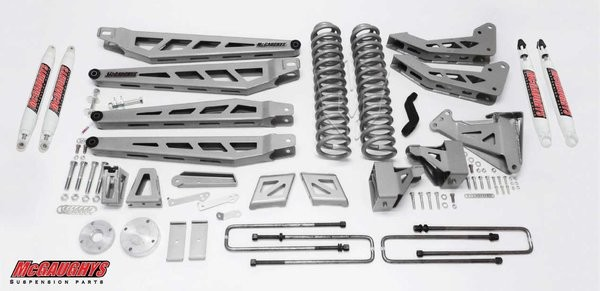 "McGAUGHYS 2011-2016 Ford F-250 (4WD)- 8"" Lift Kit Phase 3"