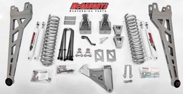 "McGAUGHYS 2005-2007 Ford F-350 (4WD) -6"" Lift Kit Phase 2"