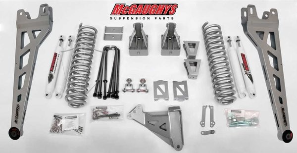 "McGAUGHYS 2005-2007 Ford F-350 (4WD) - 8"" Lift Kit Phase 2"