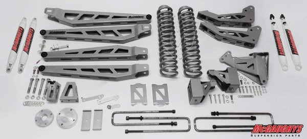 "McGAUGHYS 2005-2007 Ford F-350 (4WD)- 8"" Lift Kit Phase 3"