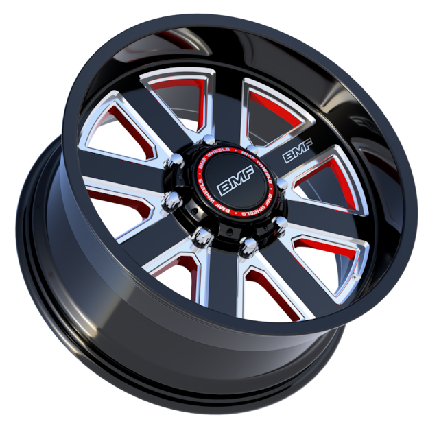 BMF Hustle - Red 20x9