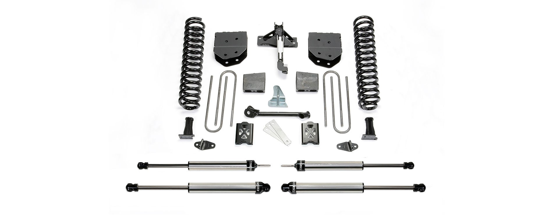 "FABTECH 2005-07   6"" Basic System - 2005-07 Ford F250 4WD w/o Factory Overload"
