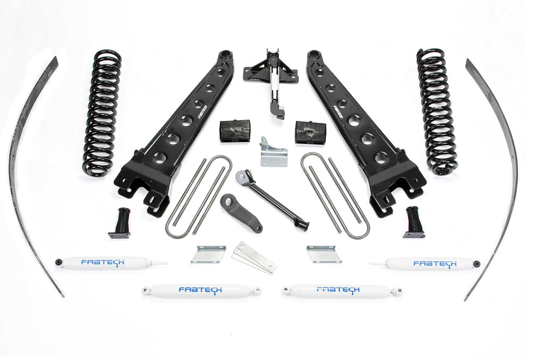 FABTECH  2008-16 FORD F250 4WD- 8″ RADIUS ARM SYSTEM W/ SHOCKS