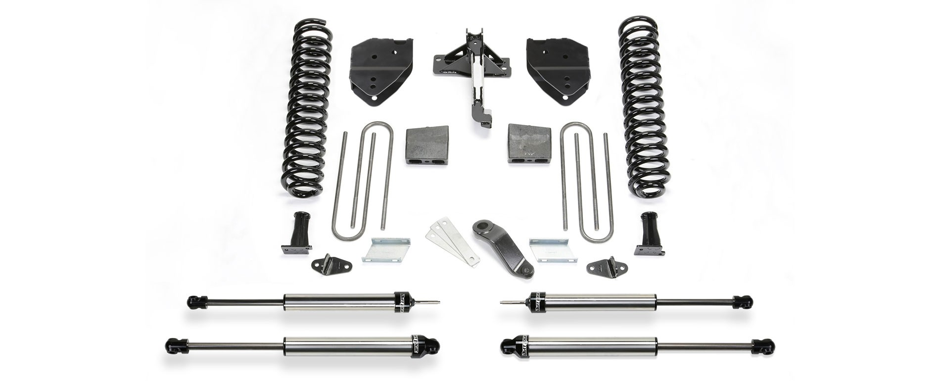 "FABTECH  2017  6"" Basic System Shocks -Ford F250/F350 4WD"