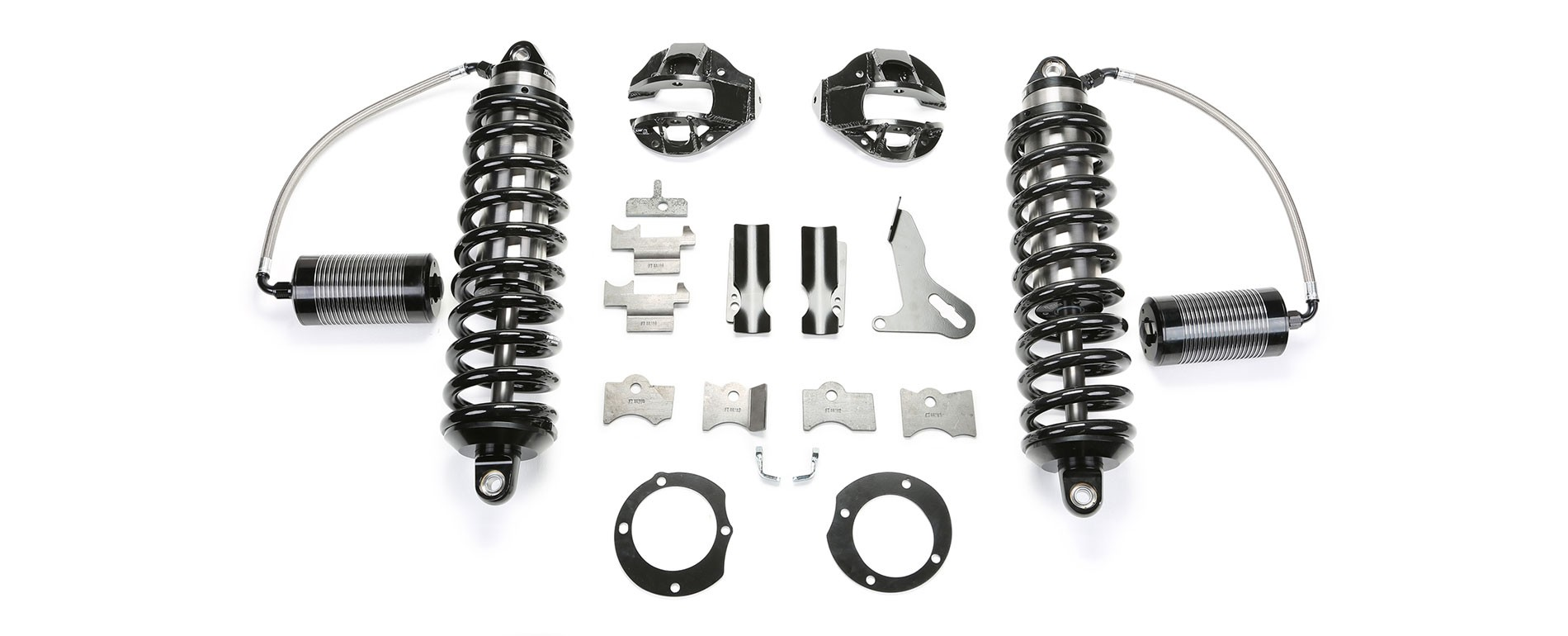 "FABTECH 7"" Dirt Logic 4.0 Resi Coilover Conversion - 2014-17 Ram 2500 4WD & 2013-17 Ram 3500 4WD"