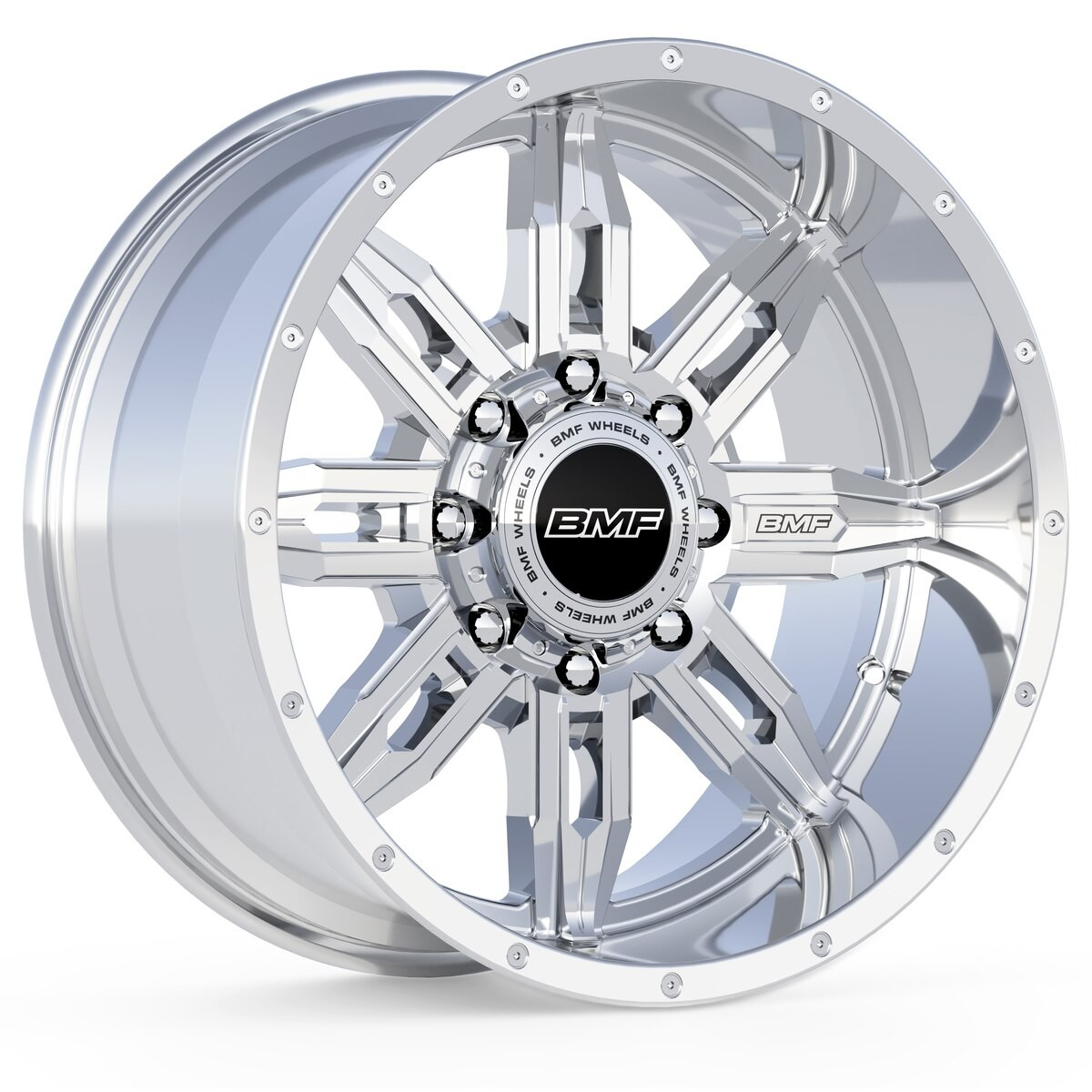 BMF Roulette - Polished 20x9