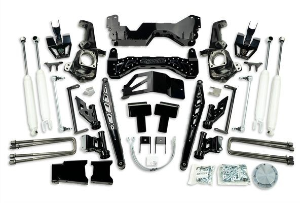"7"" Premium Black Stainless Steel Lift Kit for 2020+ GM Truck 3500"
