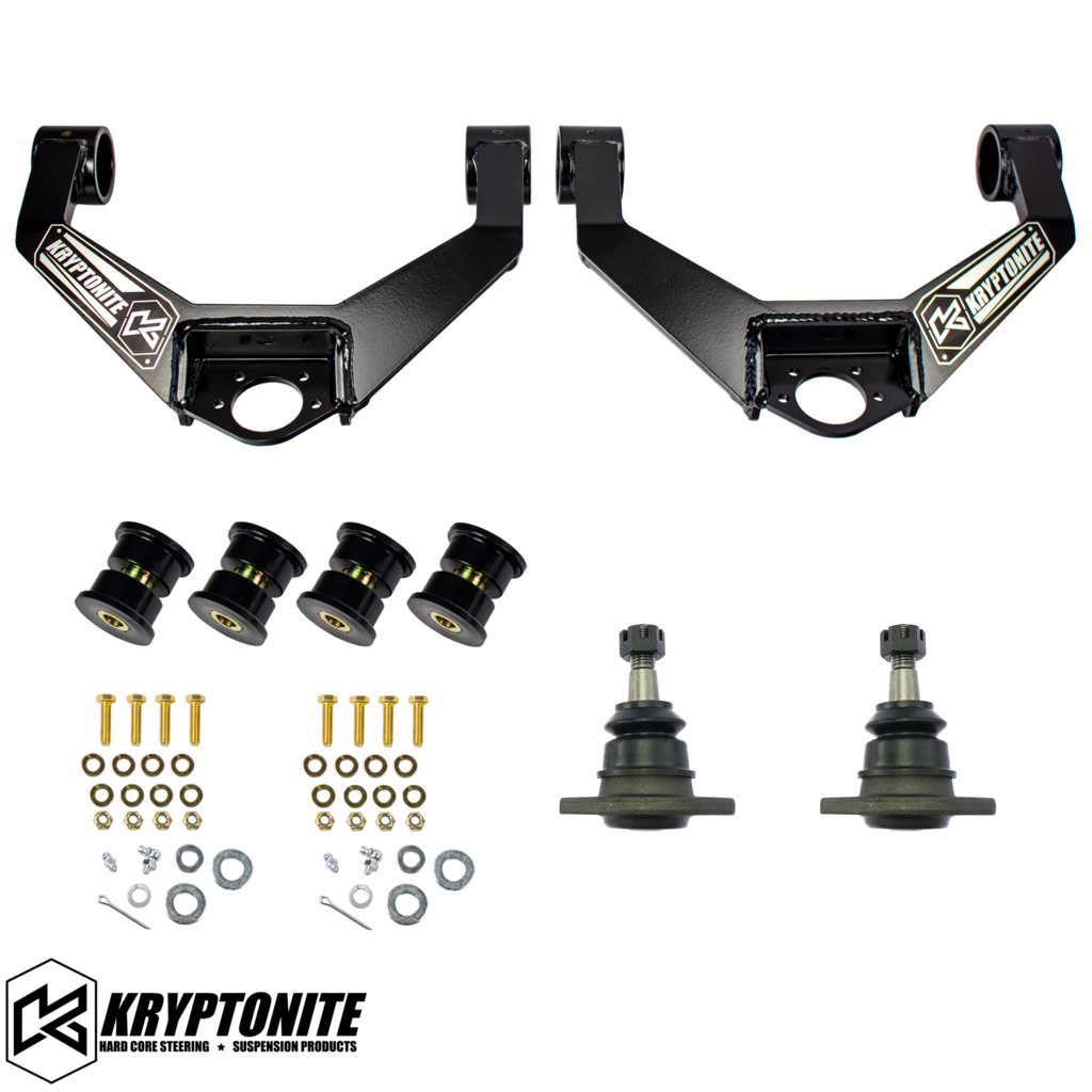 KRYPTONITE UPPER CONTROL ARM KIT 2011-2019