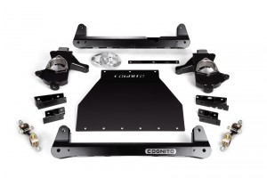 "COGNITO 4"" STANDARD LIFT PACKAGE FOR 2014-2018 GM 1500 2WD TRUCKS WITH OE CAST STEEL UPPER AND LOWER CONTROL ARMS"