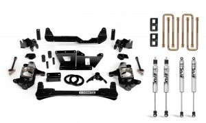 "Cognito 4"" Standard Lift Kit With Fox PS 2.0 Shocks"
