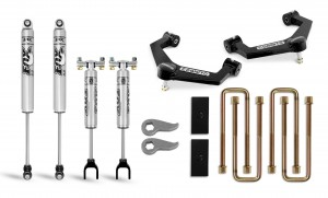 "Cognito 3"" Performance Uniball Leveling Lift Kit With Fox PS 2.0 IFP Shocks"