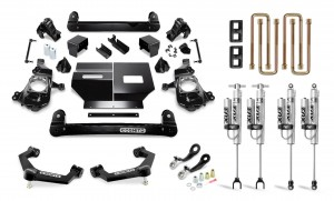 """Cognito 4"""" Performance Lift Kit with Fox Remote Reservoir Shocks"""