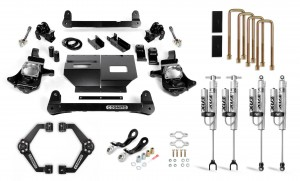 """Cognito 4"""" Performance Lift Kit with Fox PSRR 2.0"""