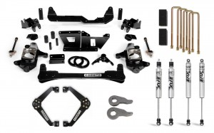 "Cognito 6"" Standard Lift Kit with Fox 2.0 Shocks"