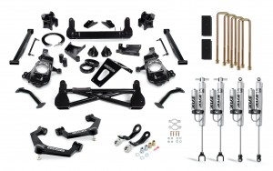 """Cognito 7"""" Performance Lift Kit with Fox PSRR 2.0 Shocks"""