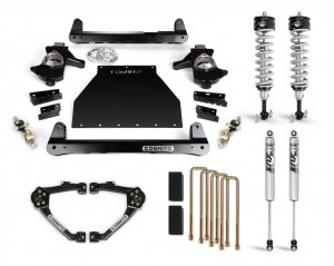 """Cognito 4"""" Performance Lift Kit With Fox PS IFP 2.0 Shocks"""