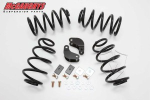 "McGaughy's- 2""/3"" Economy Kit for 2007-2013 GM SUV Tahoe, Yukon, Escalade, Denali, ESV, EXT., Suburban, XL, & Avalanche (2WD Only)"
