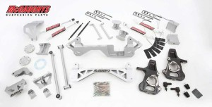 "McGAUGHYS 1999-2006 GM Truck 1500 (4WD) - 7"" Premium Lift Kit"