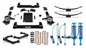 "Cognito 6"" Elite Lift Kit with King 2.5 Remote Reservoir Shocks"