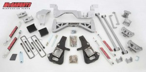 "McGAUGHYS 2002-2010 GM 3500 (2WD, Diesel) - 7"" Premium Lift Kit"