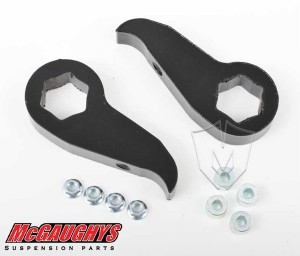 McGAUGHYS 2011-2016 GM Truck 2500/3500 (2WD/4WD) - Front Leveling Kit