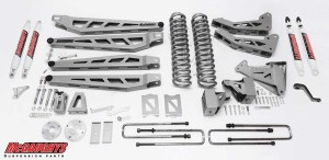 "McGAUGHYS 2005-2007 Ford F-350 (4WD) - 6"" Lift Kit Phase 3"