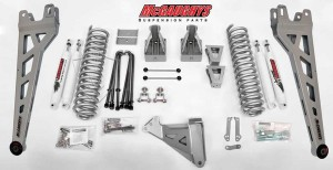 "McGAUGHYS 2008-2010 Ford F-350 (4WD)- 8"" Lift Kit Phase 2"