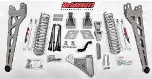 "McGAUGHYS 2011-2016 Ford F-350 (4WD)-  6"" Lift Kit Phase 2"
