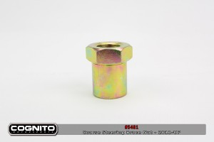 Cognito - Steering Brace Nut GOLD/OEM Coarse Thread - 2011-Up HD