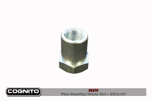 Cognito - Steering Brace Nut SILVER/OEM Fine Thread - 2011-Up HD
