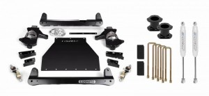 "Cognito 4"" Standard Lift Kit for OE Stamped Steel and Aluminum Arms (GM)"