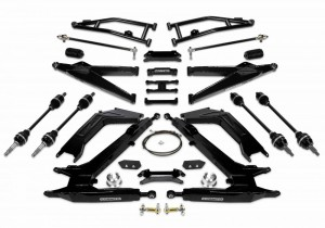 COGNITO LONG TRAVEL SUSPENSION PACKAGE WITH DEMON AXLE ASSEMBLIES FOR YAMAHA